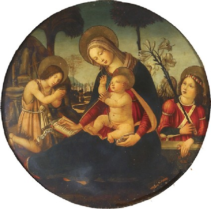 The Virgin and Child with the young St John the Baptist and an Angel
