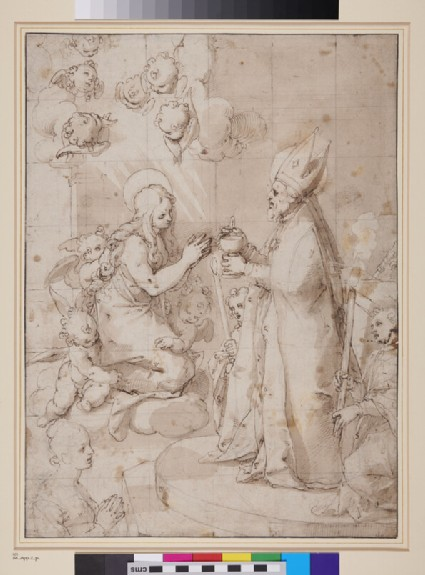 The Last Communion of St Mary Magdalen