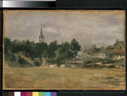Landscape with a Church Tower