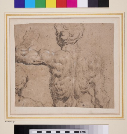Studies from a sculptural model of a nude male Figure