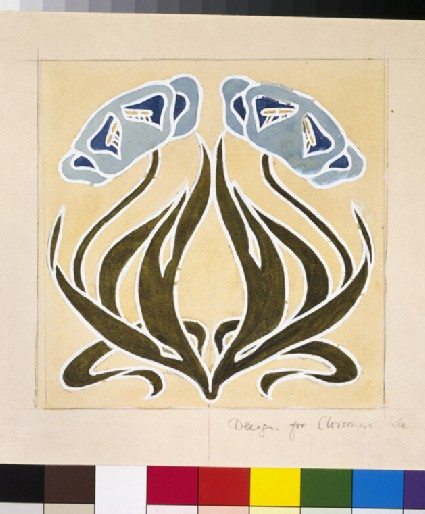 Design for a 'Minstrel Tile'