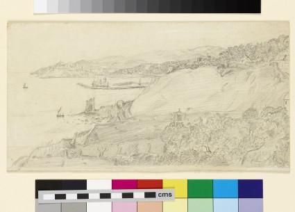 View of Porto Maurizio and Oneglia Harbour