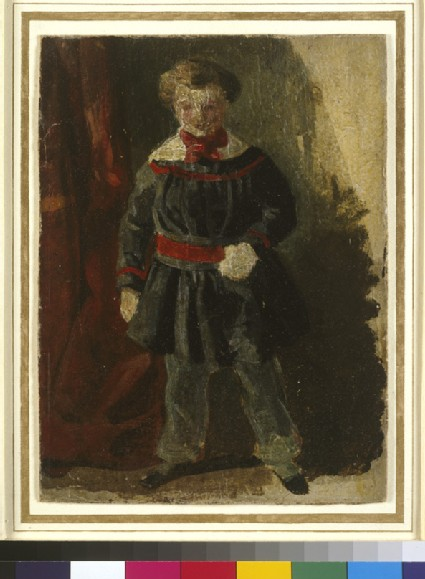 Wykeham Deverell as a Child