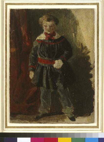 Wykeham Deverell as a Child