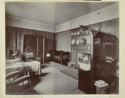 The Drawing Room at Kelmscott House, Hammersmith