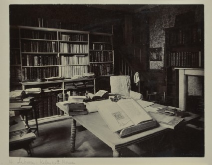 The Library at Kelmscott House, Hammersmith