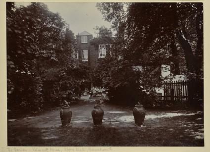 The Rear Garden at Kelmscott House, Upper Mall, Hammersmith