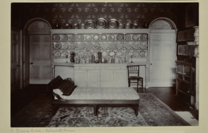 The Dining Room at Kelmscott House, Hammersmith
