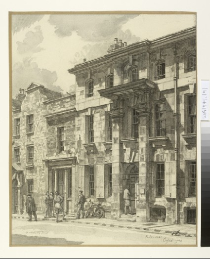 Vanburgh House, St Michael's Street, Oxford