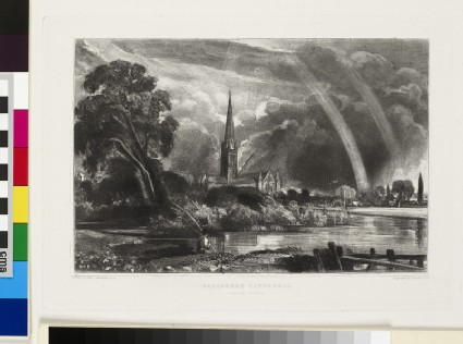 Salisbury Cathedral (small plate)