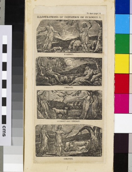 Illustrations of Imitation of Eclogue I: Colinet