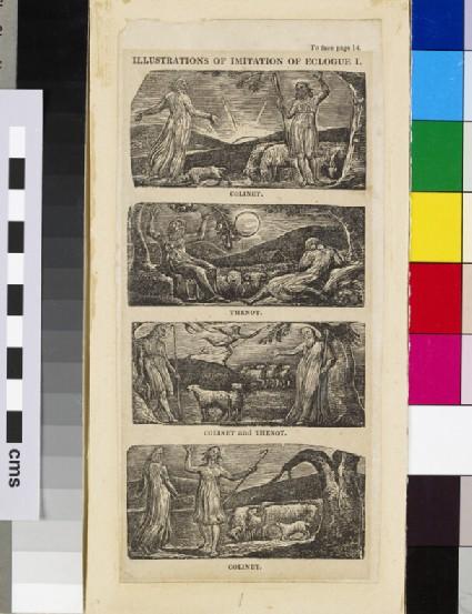 Illustrations of Imitation of Eclogue I: Colinet