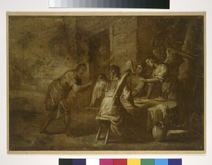 Abraham Greeting the Three Angels