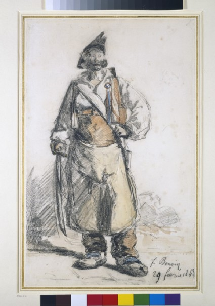 A National Guardsman of 1848