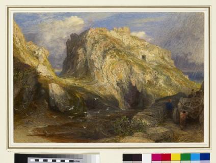 Tintagel Castle: Approaching Rain