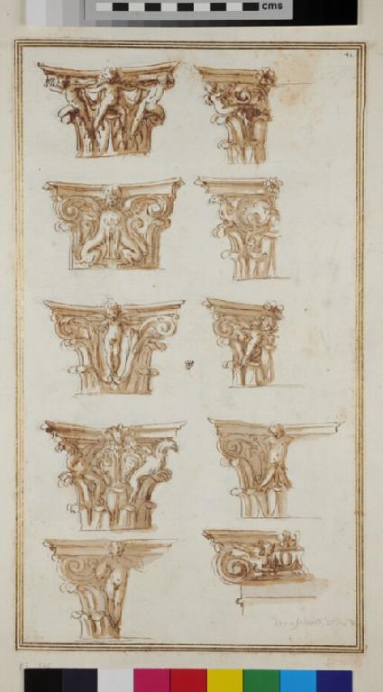 Ten capitals of various orders