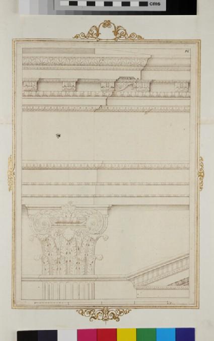 Detail of a Composite facade