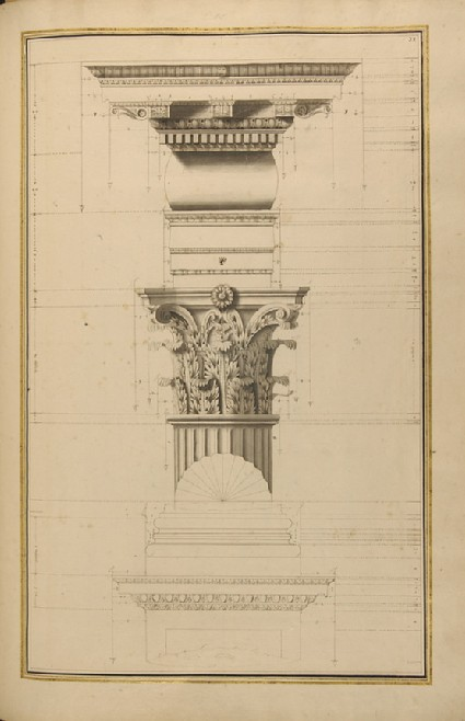 Various details of the Corinthian order
