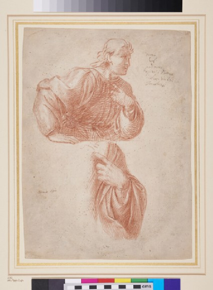 Study of a Figure and of a Hand