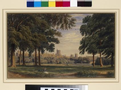 Windsor Castle from Eton College Field