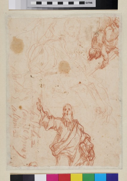 Recto: Caritas Romana