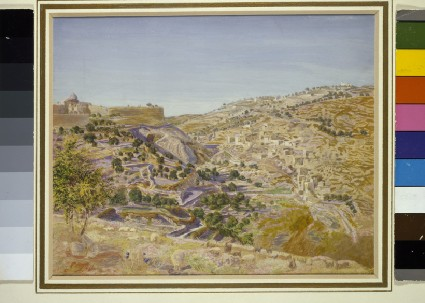 View of Jerusalem and the Valley of Jehoshaphat