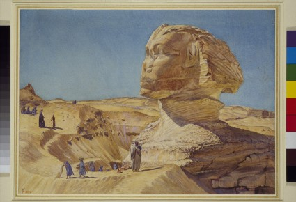 The Great Sphinx of the Pyramids of Giza