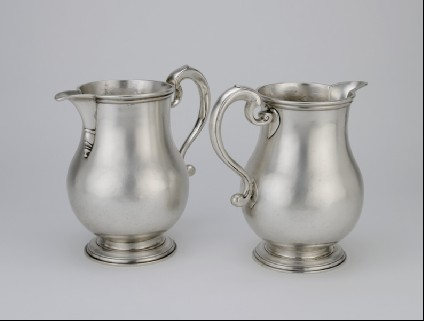 Jug, one of a pair