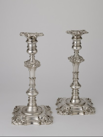 Candlestick, one of a set of four