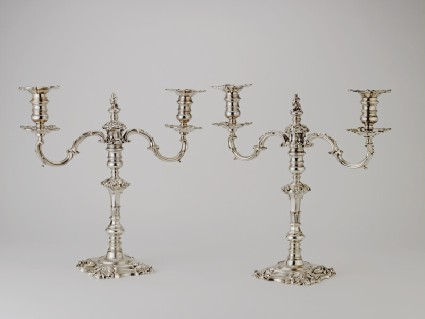 Candelabra branch, one of a set of two