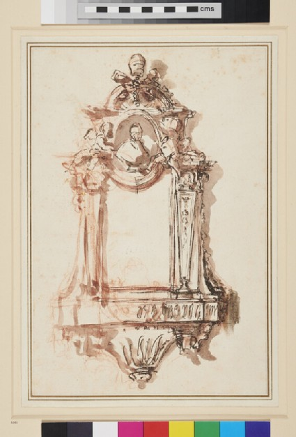 Design for a Wall Monument