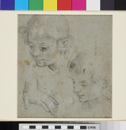 Studies of a Boy's Head and Hand
