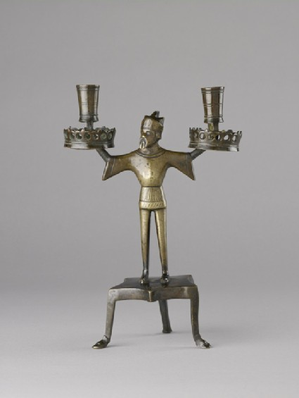 Candlestick in form of a serving man