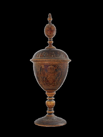 Standing cup with arms of James I