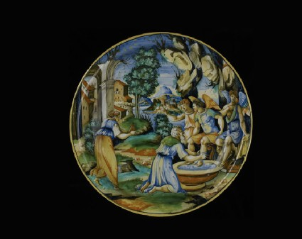 Bowl with Abraham and the Angels