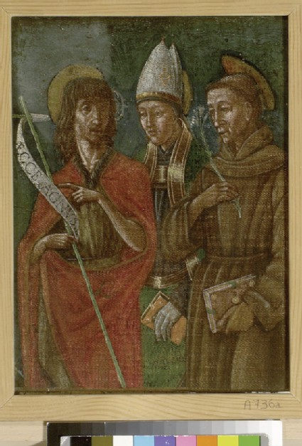 St John the Baptist, a Bishop Saint and possibly St Anthony of Padua