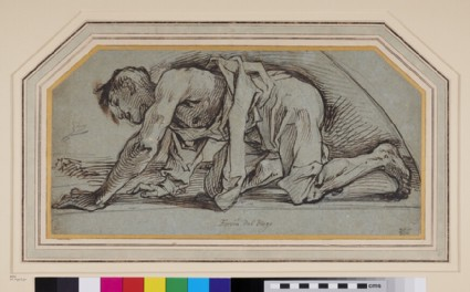 Study of a young Man crawling