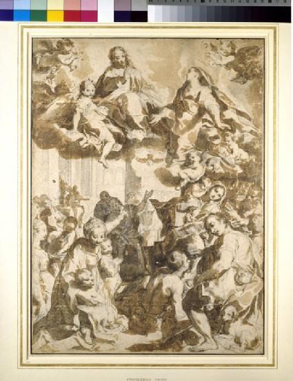 The Madonna del Popolo, after Barocci