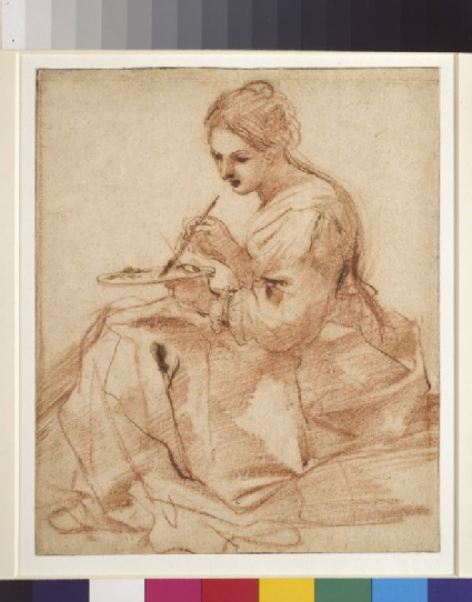 A Woman Painting (An allegory of painting)
