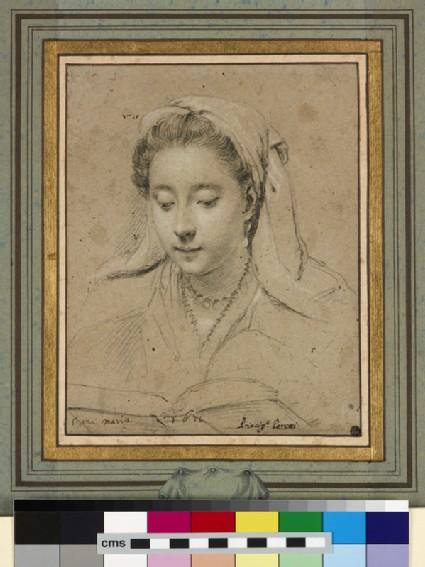 Portrait of Anna Maria Cesi, Princess Peretti