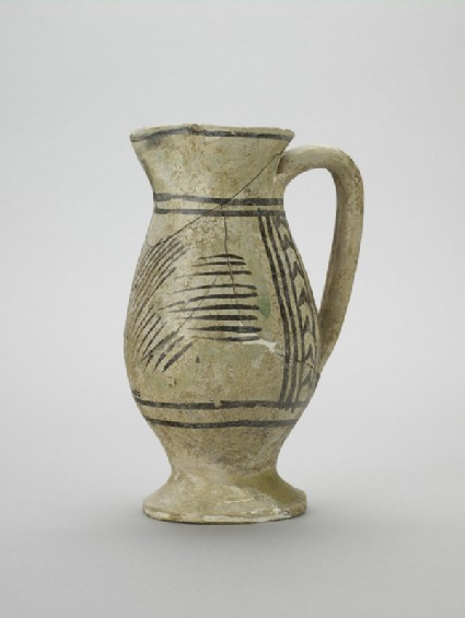 Jug with decoration