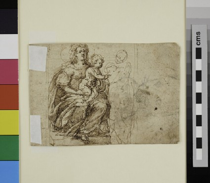 Recto: The Virgin and Child