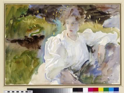 Evening: Portrait of Miss Marion Barnard