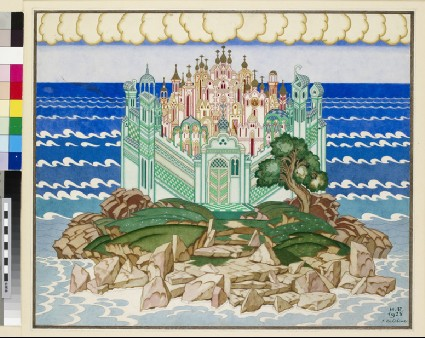 Design for the Décor of 'Grad Kitezh'