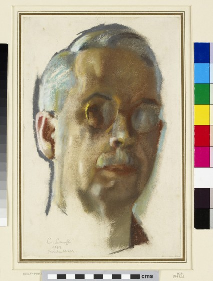 Self-portrait with Pince-nez
