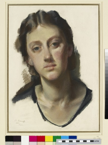 Study for a Portrait of Miss Tatiana Braikevitch