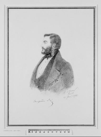 Portrait of Eugène (Marie-Joseph) Sue