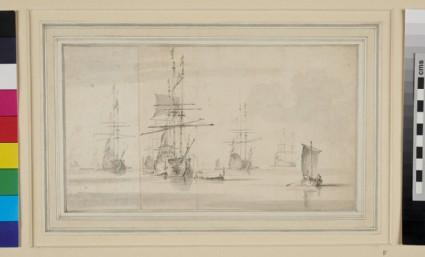 Dutch Ships at Anchor