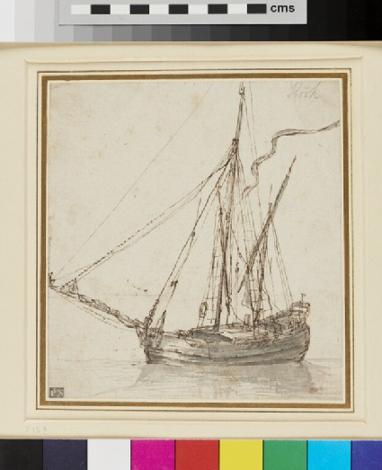 A two-masted Vessel