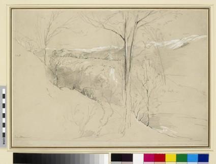 Landscape Study near Olevano